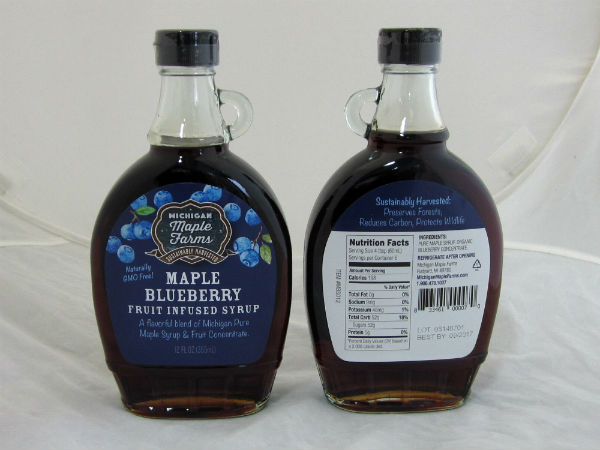 Maple Blueberry Syrup Recipe — Dishmaps